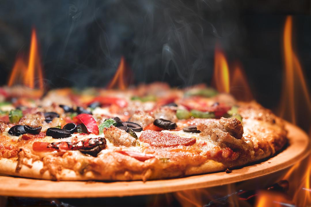 Studio vibez - Pizza op open vuur