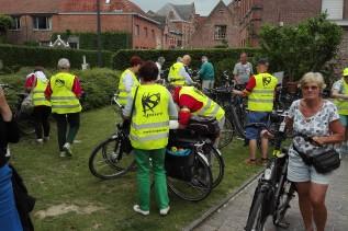 Provinciale wandel-en fietshappening